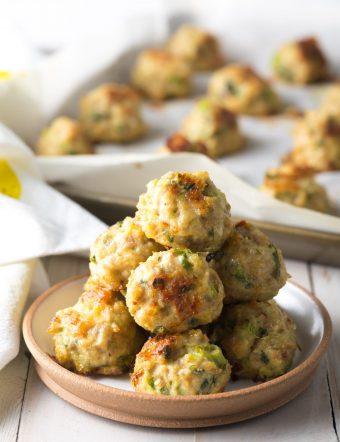 (Paleo & Keto) Thai Baked Turkey Meatballs Recipe #ASpicyPerspective #whole30 #paleo #keto #glutenfree #turkey #chicken #thai