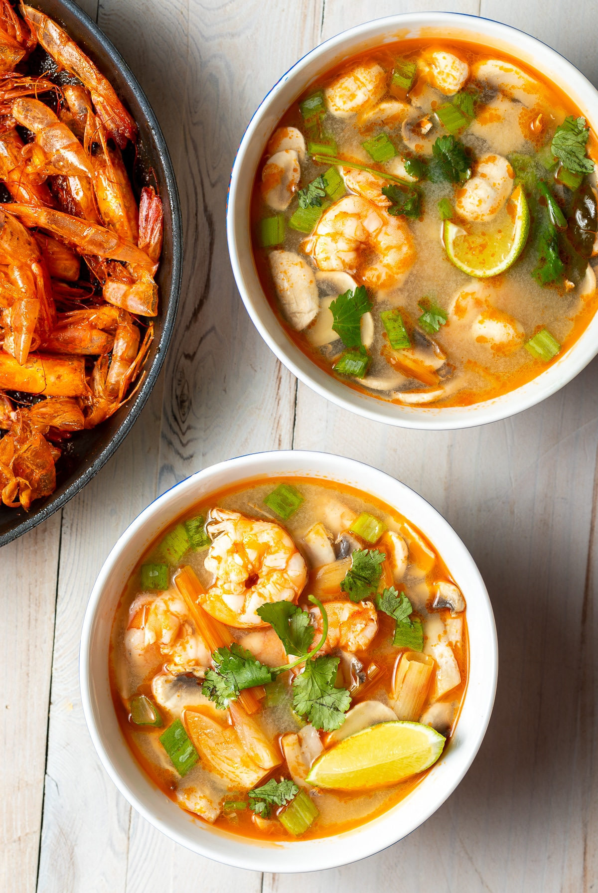 Tom Yum Soup (Hot and Sour Soup)