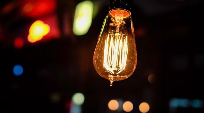 A lightbulb glowing in the night   Aspioneer