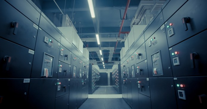 A huge data center | Aspioneer