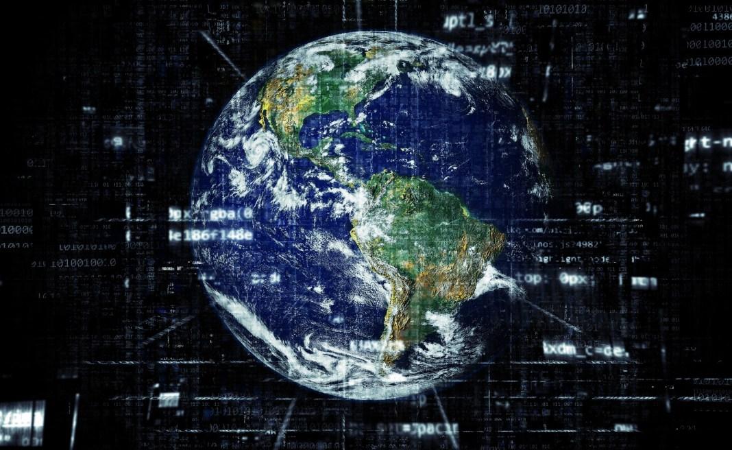 The globe of Earth   Aspioneer