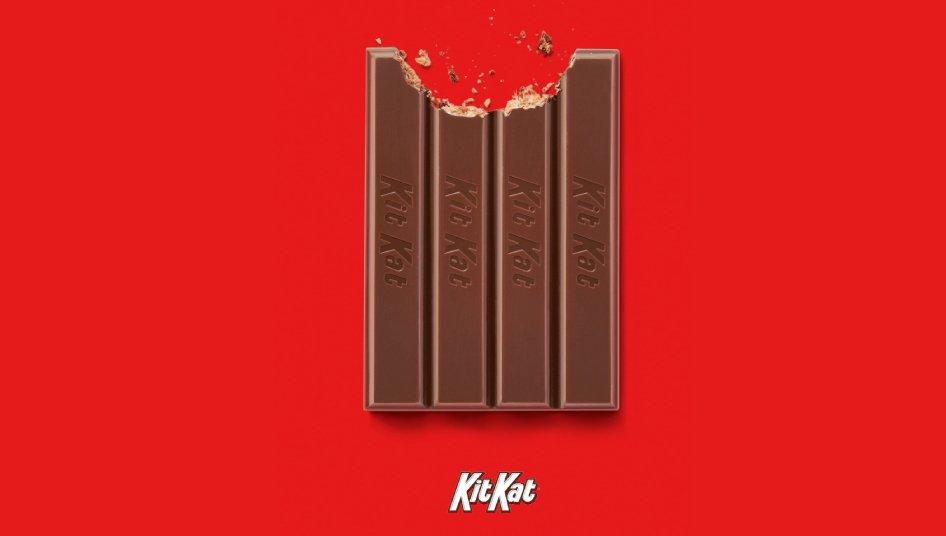 A bitten KitKat