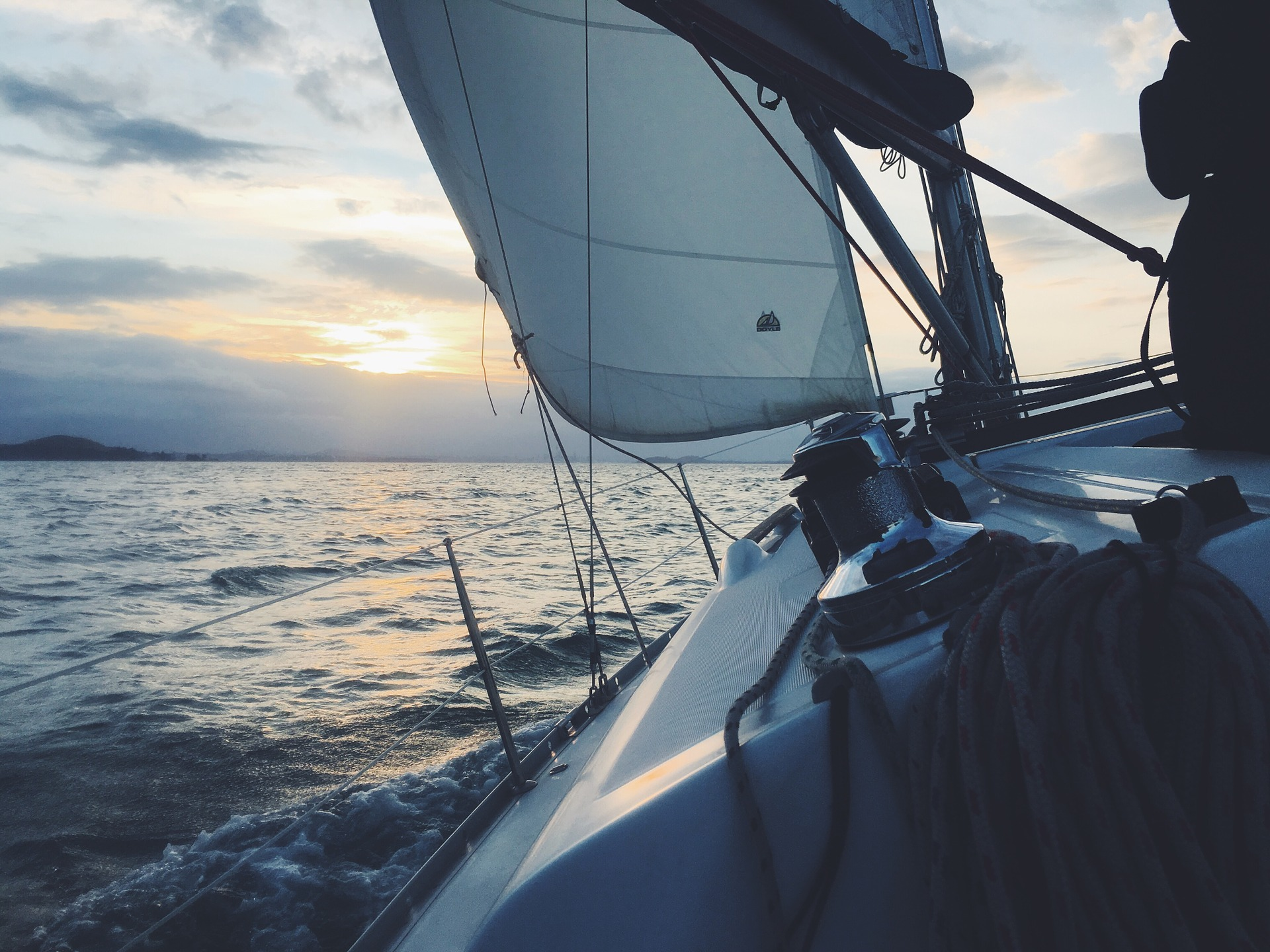 Adventure on a sailboat
