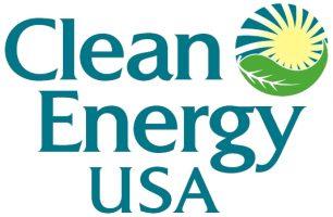 Clean Energy USA Logo redesign recolor