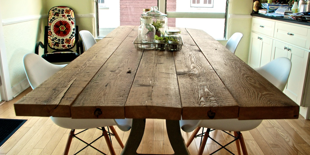 DIY: Reclaimed Wood Table