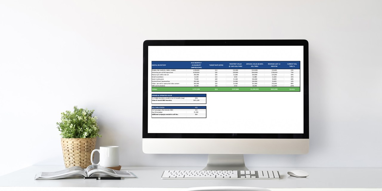 Owned and Operated (O&O) Inventory Valuation Template