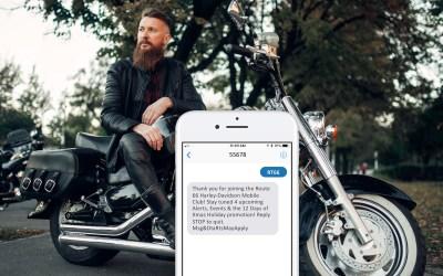 Mobile Messaging Case Study: Harley-Davidson Dealership