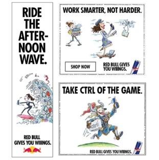 Red Bull ad sample