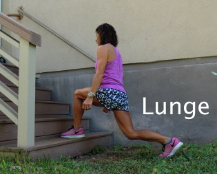Lunge Stairs 2