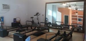Pilates studio first pics