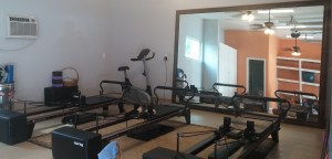 Pilates studio first pics