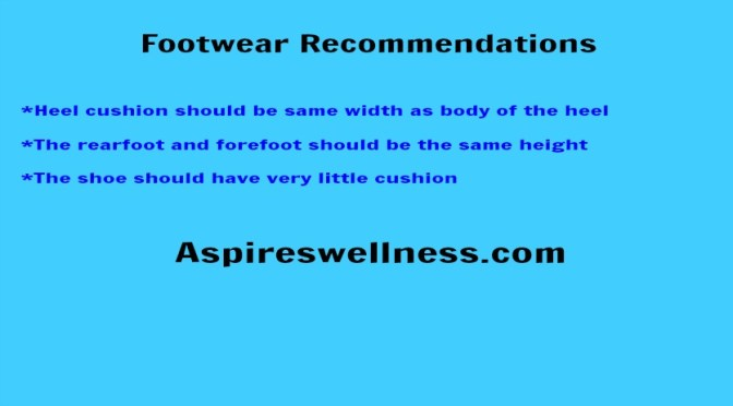 Footwear- Barefoot or Thick Sole