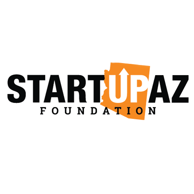 Graphic of the logos for EmergeAZ, invisionAZ, and StartUpAZ, announcing Aspireship, a SaaS training and recruiting company, as a final EmergeAZ fast grant awardee.