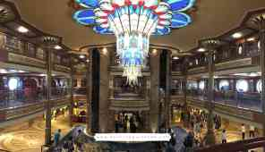 Disney Cruise Line - Disney Dream Atrium, Deck 3