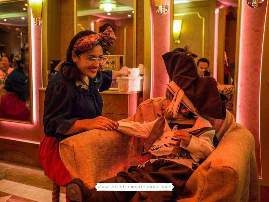 Bibbidi Bobbidi Boutique - Disney Cruise Line - Disney Dream - Pirate Night