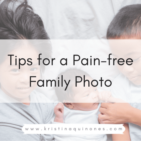 6 Tips for a Painless Family Photo with Toddlers and Preschoolers