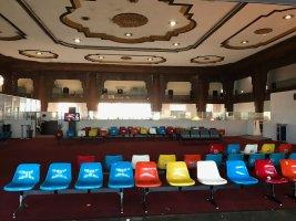 The Yangon Domestic Terminal CIP lounge.
