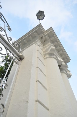 Lovely details of the entrance to the Governors Palace
