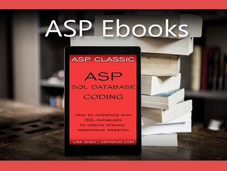 ASP SQL Database Coding Ebook