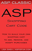 ASP Shopping Cart Code Ebook