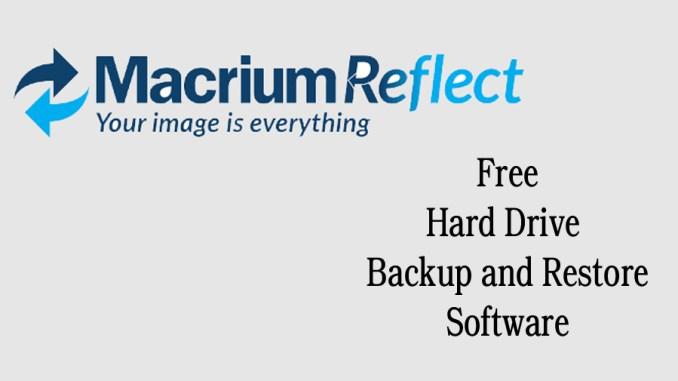 Macrium Reflect Free Hard Drive Backup and Restore Software