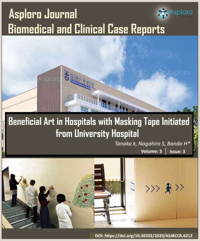 Beneficial Art in Hospitals with Masking Tape Initiated from University Hospital