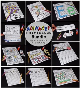 Alphabet Activities NO PREP