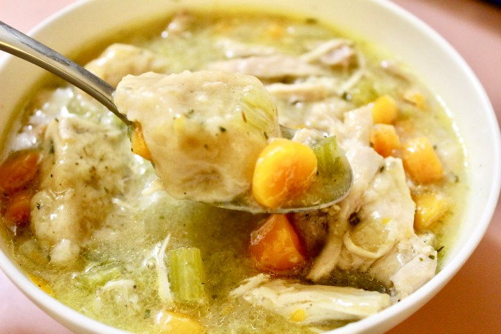 Instant Pot Chicken and Dumplings Soup