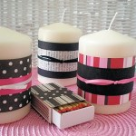 Kids Craft: Decorated Candles and Matches – Mothers Day Project