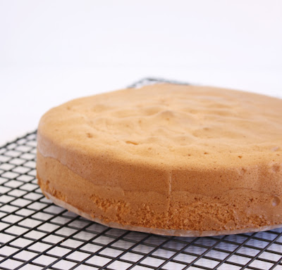 Easy Sponge Cake A Spoonful Of Sugar
