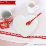 Valentines Breakfast Tray