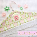 Coat Hanger Cover {Tutorial}