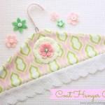 Coat Hanger Cover {Tutorial}