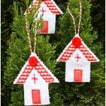 Christmas House Ornaments