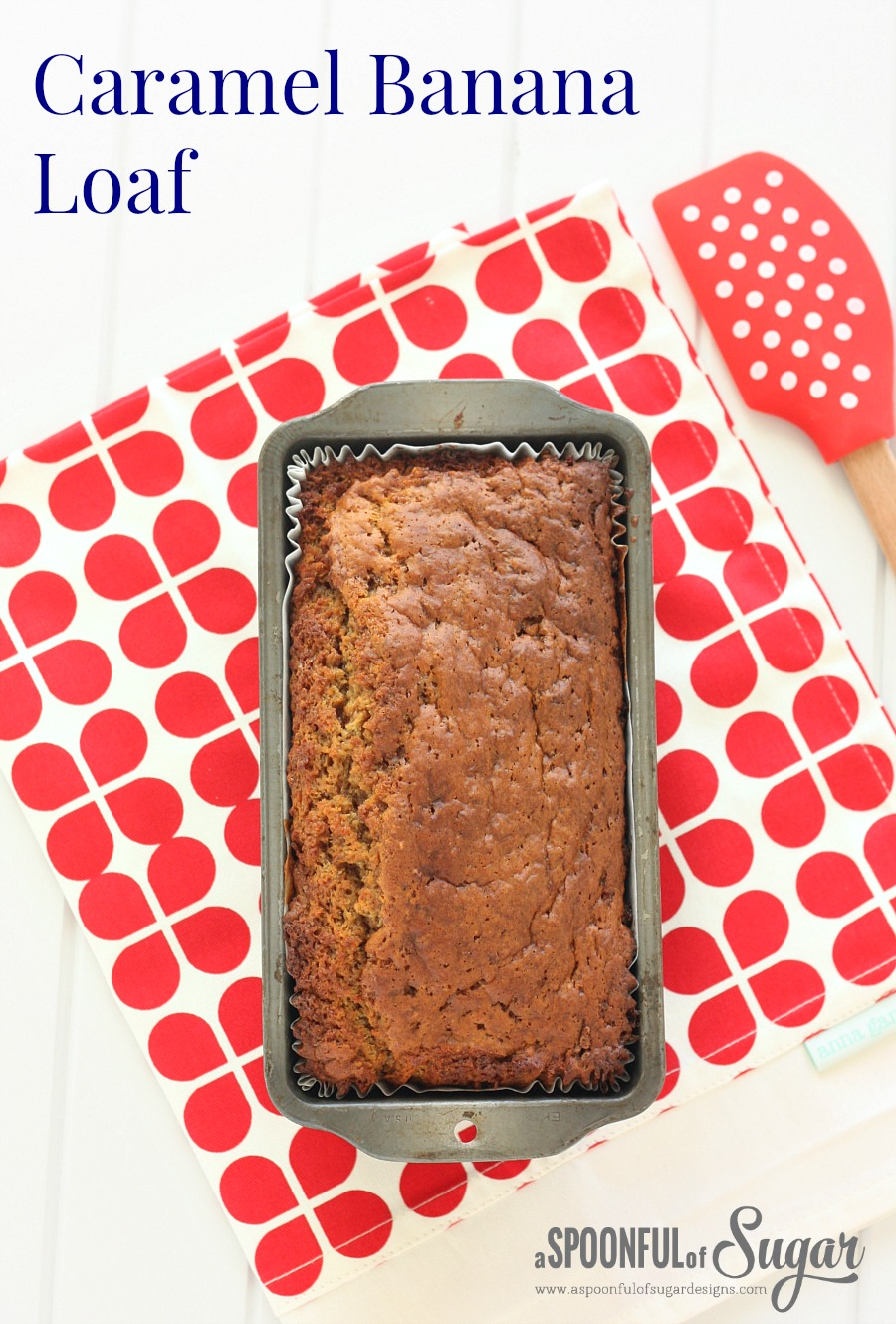 Caramel Banana Loaf recipe