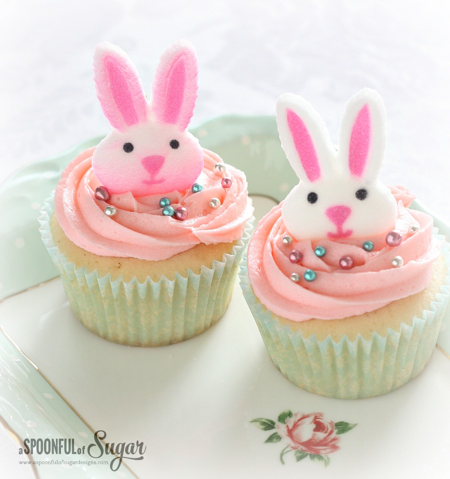 Easter Cupcake Recipe - A Spoonful of Sugar