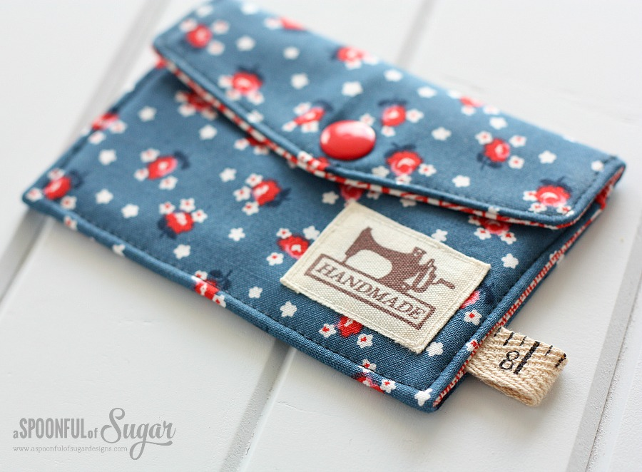 Business Card Wallet - A Spoonful of Sugar