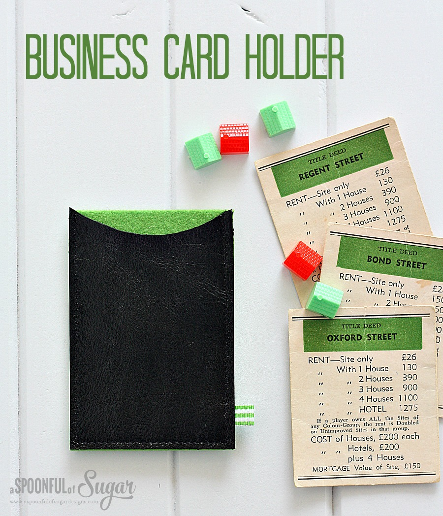 Sew a business card holder a spoonful of sugar sew a business card holder reheart Images