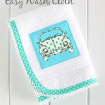 Easy Wash Cloth to Sew