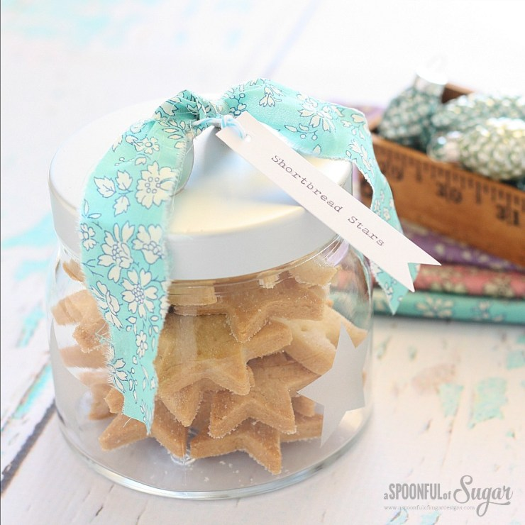 Shortbread Stars Recipe