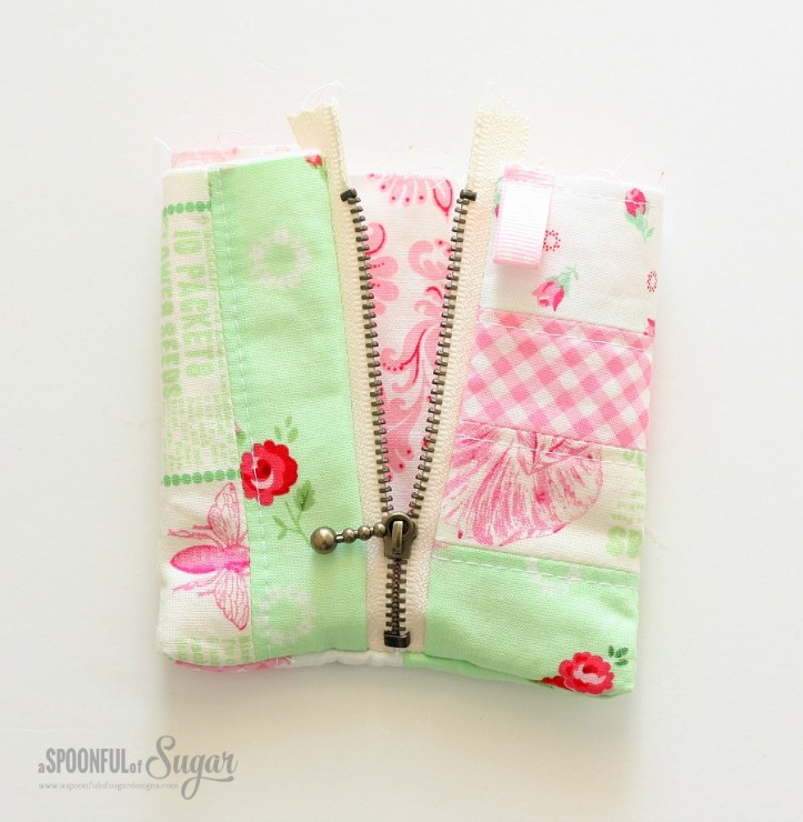 Triangle Pouch - Step 7