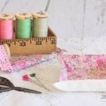 Charm Square Fabric Tray
