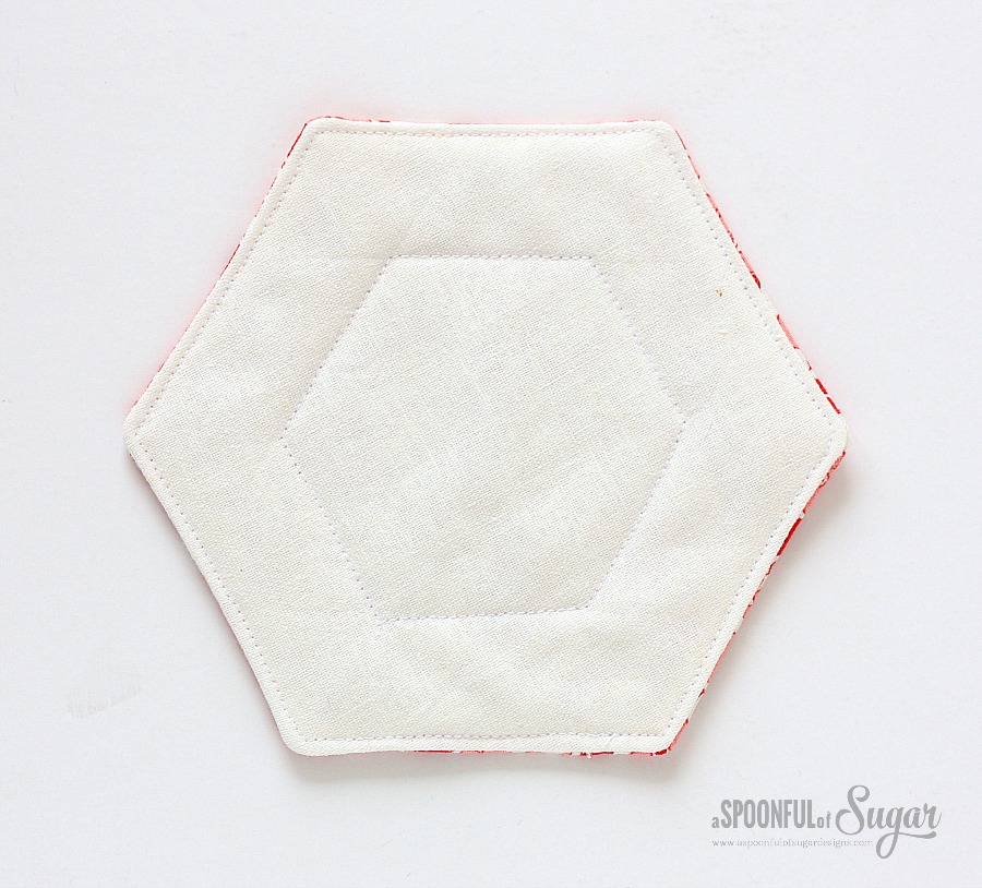 Hexagon Fabric Tray 5