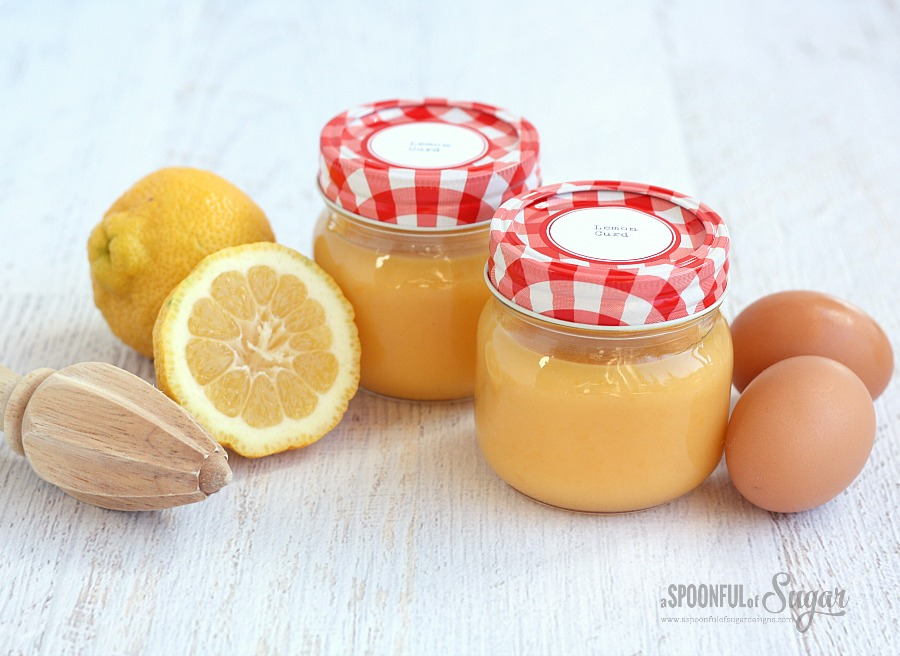 Easy Lemon Curd Recipe by A Spoonful of Sugar