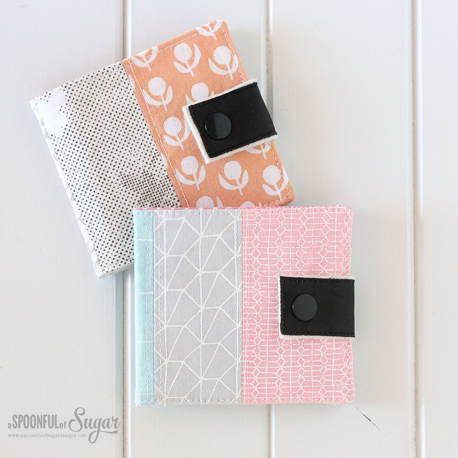 Sewing tutorial loyalty card wallet a spoonful of sugar loyalty card wallet sewing tutorial by a spoonful of sugar designs jeuxipadfo Image collections