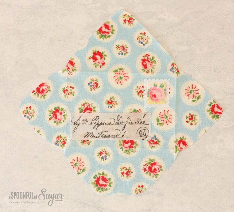 Pretty Fabric Envelopes Sewing Tutorial/ A Spoonful of Sugar