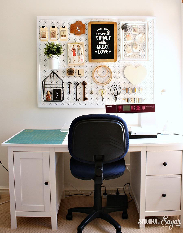 Sewing Room Organisation