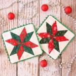 Christmas Star Coasters