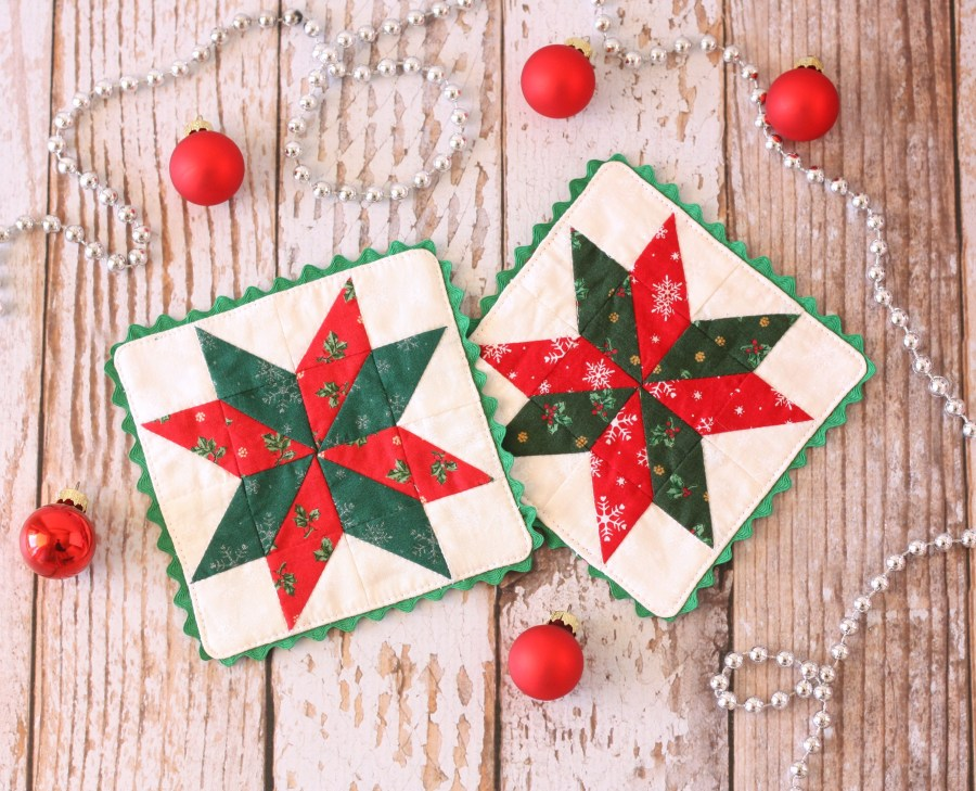 Christmas Star Coasters 3