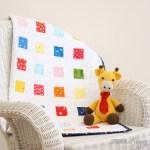 Crayon Box Baby Quilt